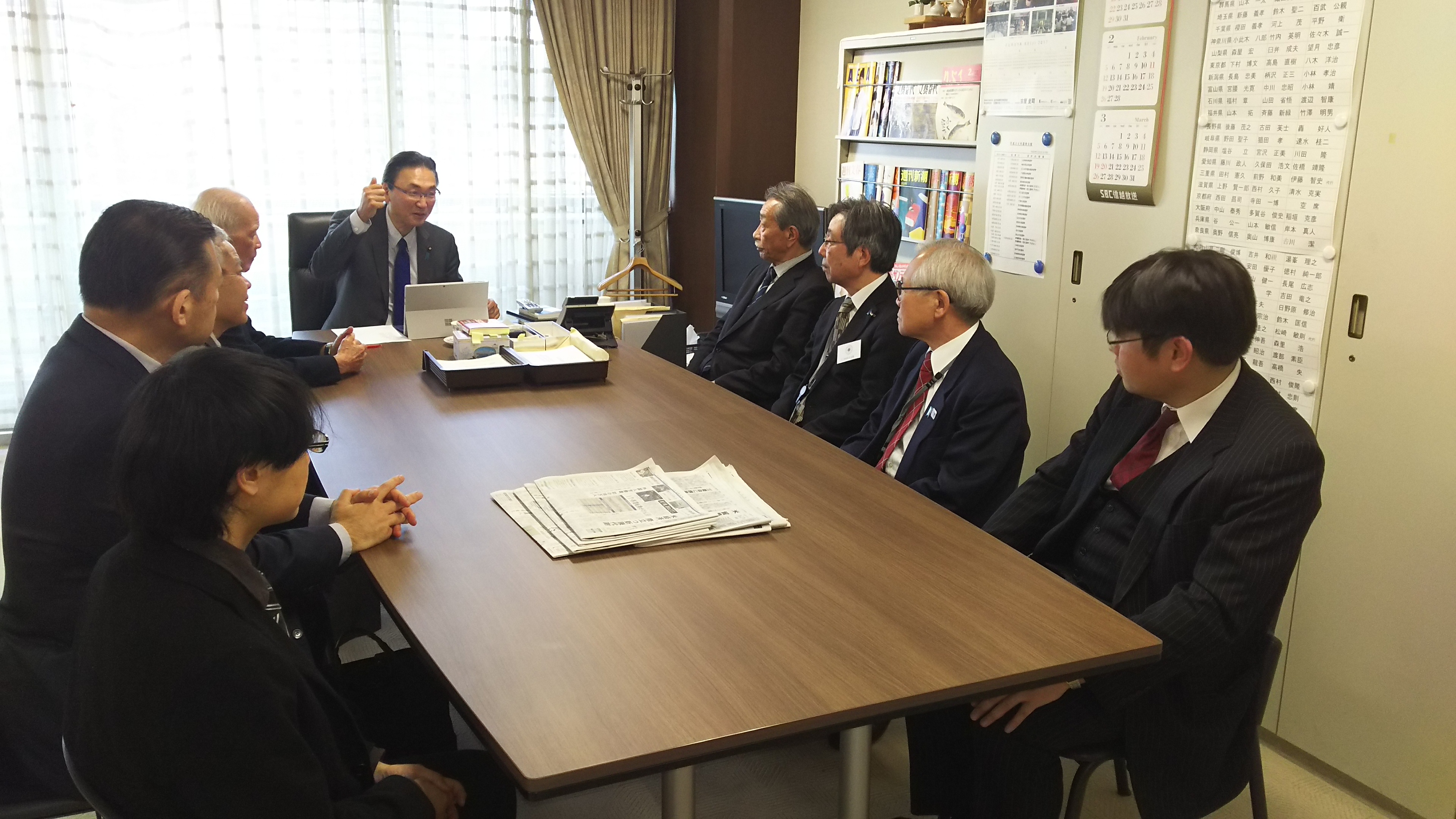 古屋圭司先生と推進協議会役員